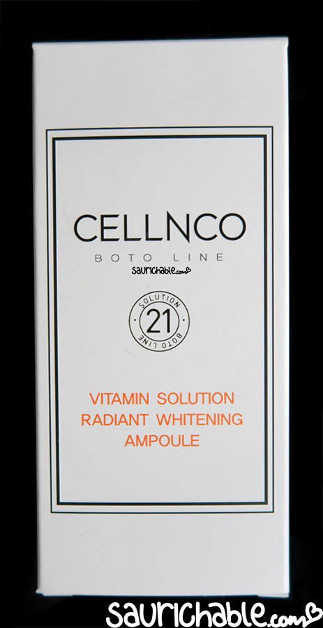 CELLNCO Vitamin Solution Ampoule review