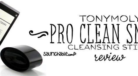 Review: Tonymoly Pro Clean Smoky Cleansing Stick