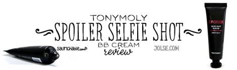Review (acne skin): Tonymoly Spoiler Selfie Shot BB