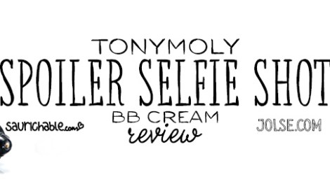 Review (acne skin): Tonymoly Spoiler Selfie Shot BB