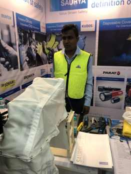 Escape chute product display at SAMA Safety Summit 2019