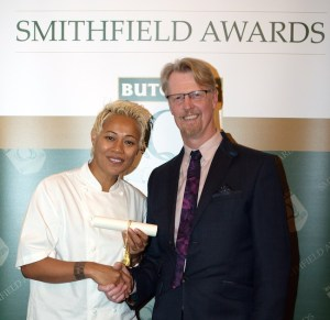 Smithfield Awards Bradwell Butchery presentation