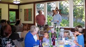 Seder Paul leads