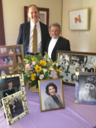 Paul and George for Ellen Roseman blurry