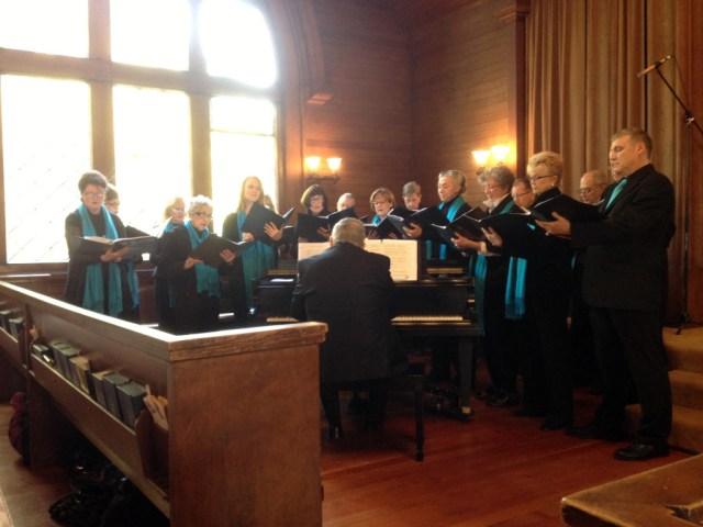 Carol in choir