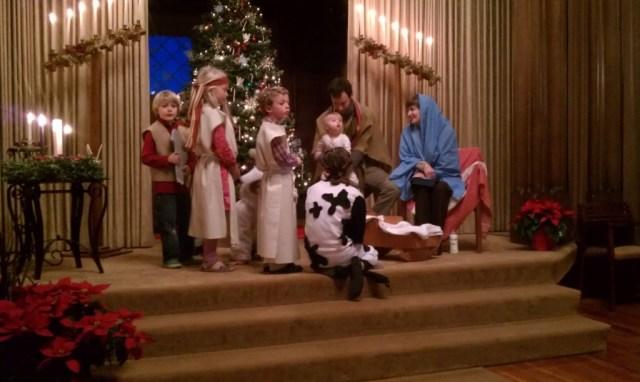 Kos, holy family Christmas Eve 2013 6