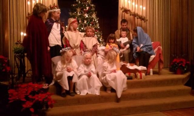 Kos, holy family Christmas Eve 2013 8