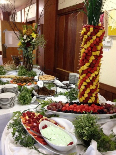 Reception 1 Food and Flowers FM