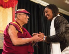 Dalai Lama and Lilly