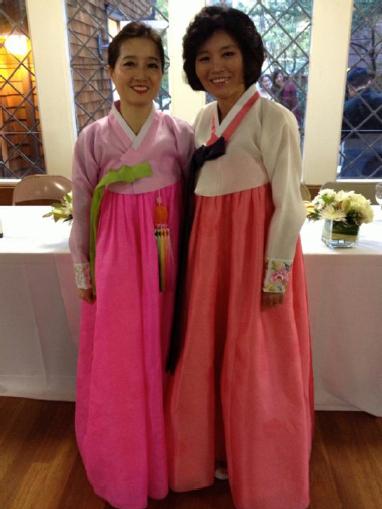Korean Wedding Mothers