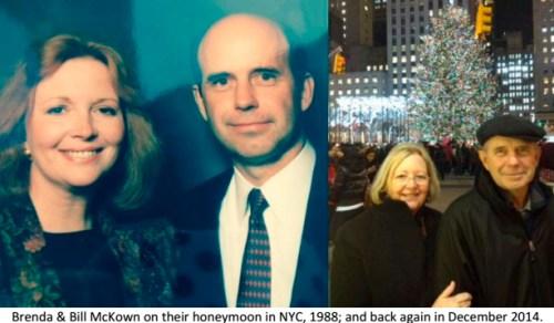 Bill and Brenda McKown anniversary