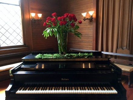 Joan Casey Roses on piano