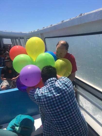 Paul, Kar, balloons ferry