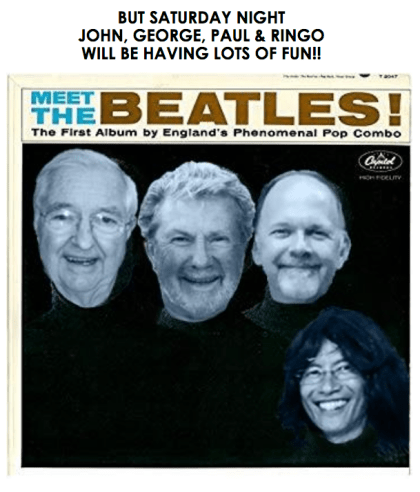 Beatles from Paul
