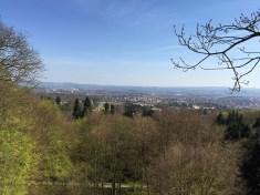 Ausblick über Kassel mit dem Schloss Wilhelmshöhe