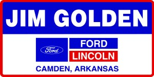 logo that says Jim Golden Ford in blue and red