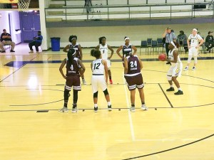 female bball players