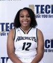 black female basketball player