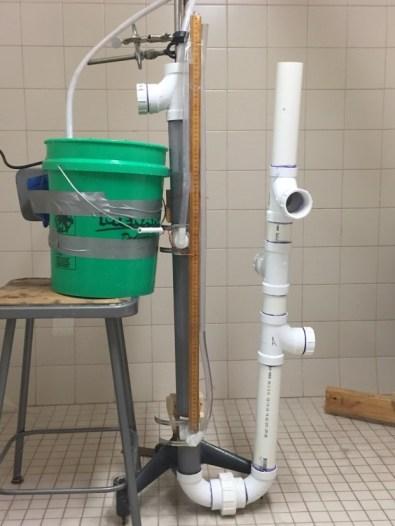 2 inch PVC permeameter