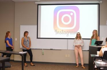 """The """"Selfie"""" Effect: The Influence of Social Media Feedback on Stress, Physiology, Mood, and Memory; Alexandra Brown, Ann Froeschle, Bayley Keys, Abigail Landrum , with Dr. Shyam Seetharaman, Dr. Jennifer Whitmer"""