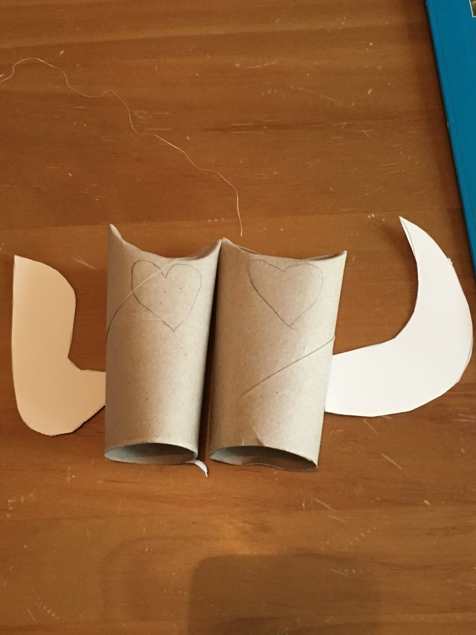 Bricolage De Noel Avec Rouleau De Papier Toilette