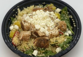 Mediterranean Couscous w/ Chicken