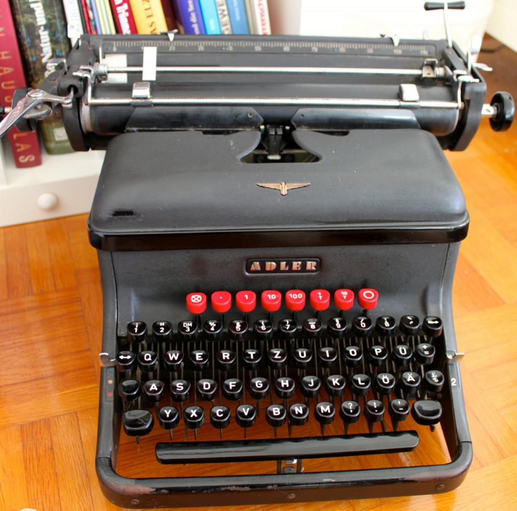Why I Like Typewriters Savage Minds