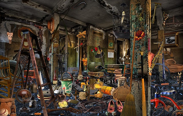 messy photo