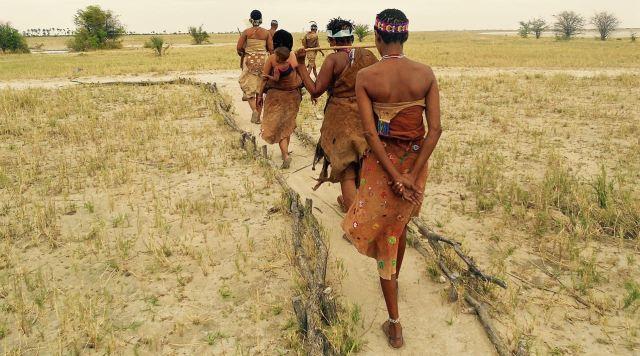 Bushmen of the Kalahari.