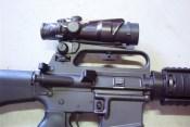 AR15 Fixed Carry Handle ACOG