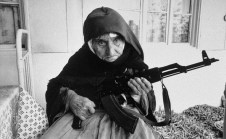 106 Year Old Armenian Lady With AK-47