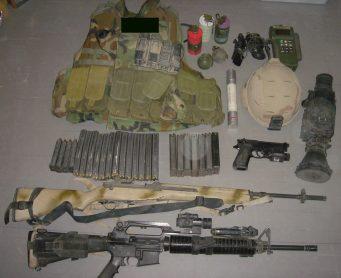 soldier's loadout