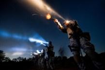 night shooting training