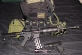 m4 ar15 glock plate carrier loadout