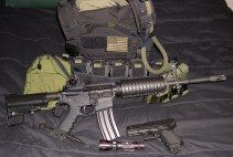 m4 ar15 glock plate carrier loadout