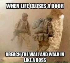 Breecher Life Lesson Meme