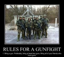 rules for a gunfight
