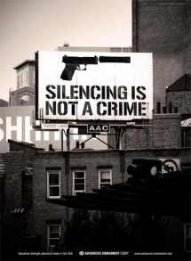 Advanced Armament Corporation Advertisement Silencing Is Not A Crime