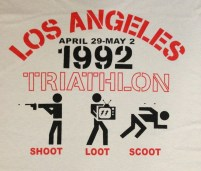 los angeles riots triathlon shoot loot scoot