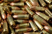 Pile of 9mm Ammunition