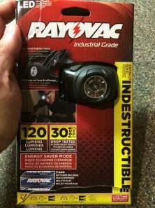 Rayovac Headlight 1