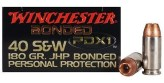 Winchester PDX1 .40 S&W 180 JHP Bonded
