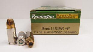 Remington Golden Saber Bonded 9mm +P