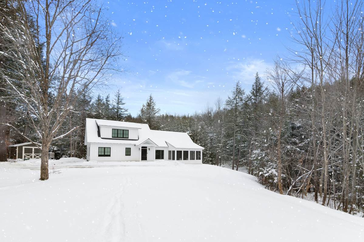 Real estate photography in Stowe Vermont