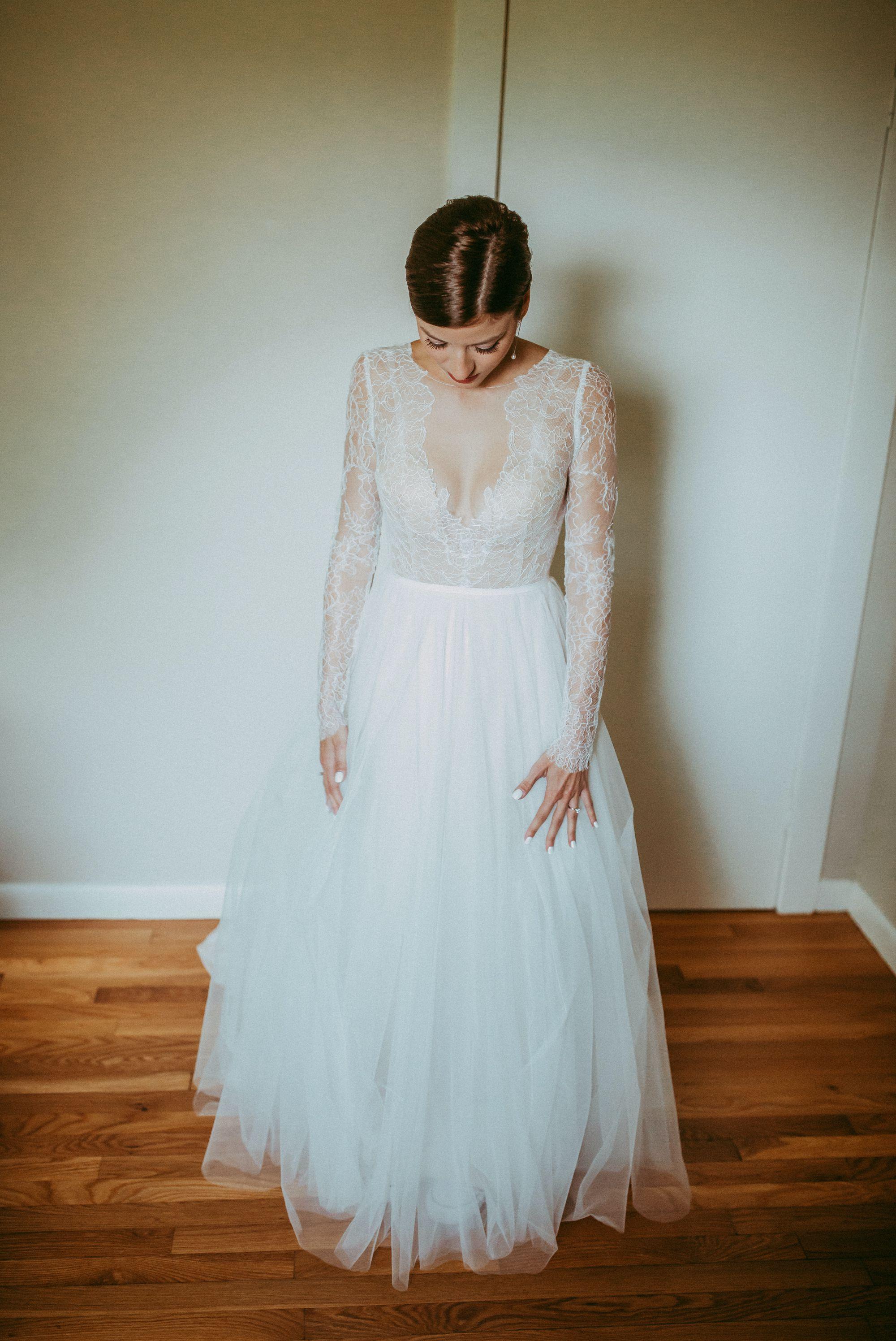 Mt Mansfield Wedding Bride