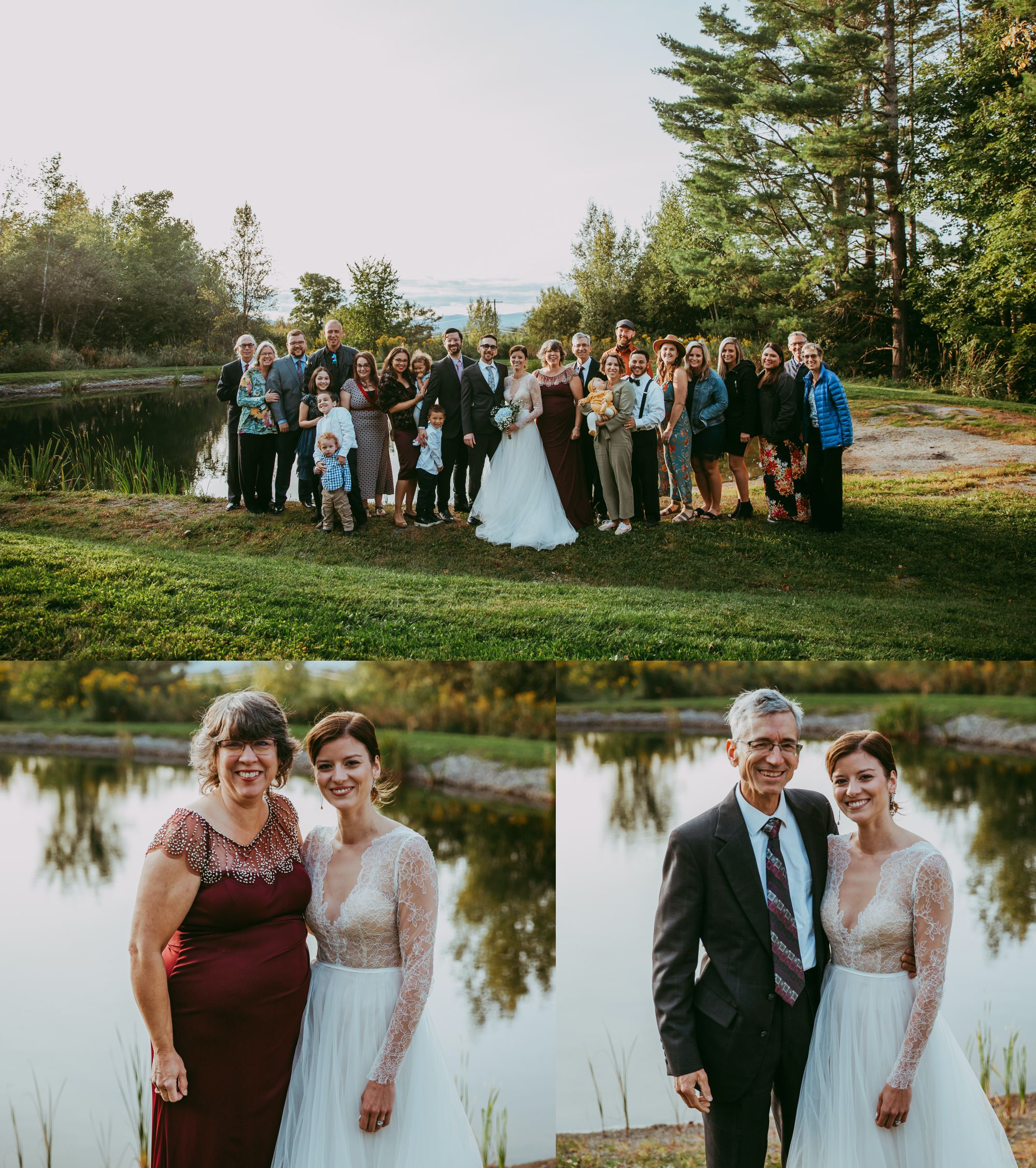 Mt Mansfield Wedding All Guests
