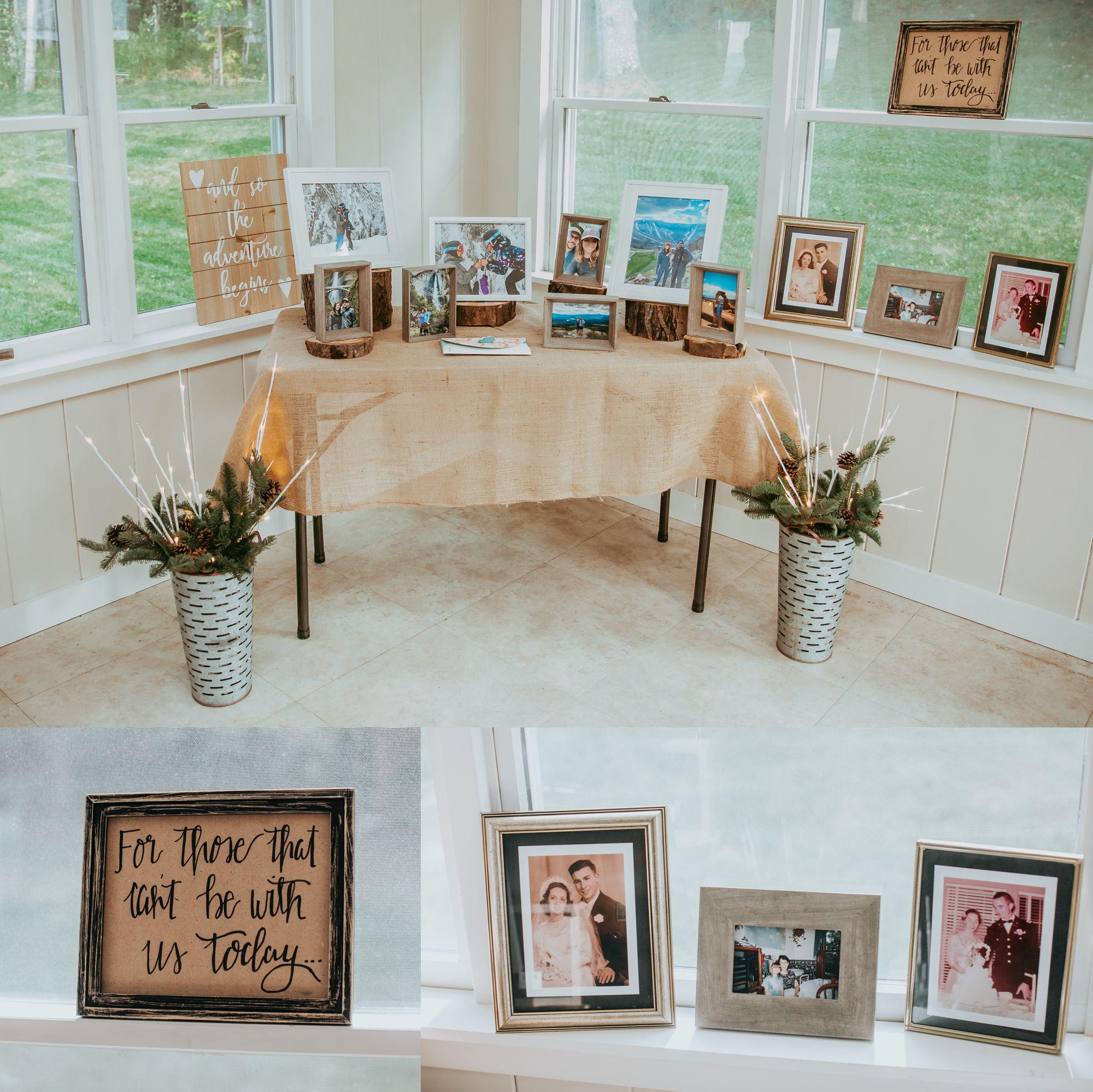 Mt Mansfield Wedding Details Reception