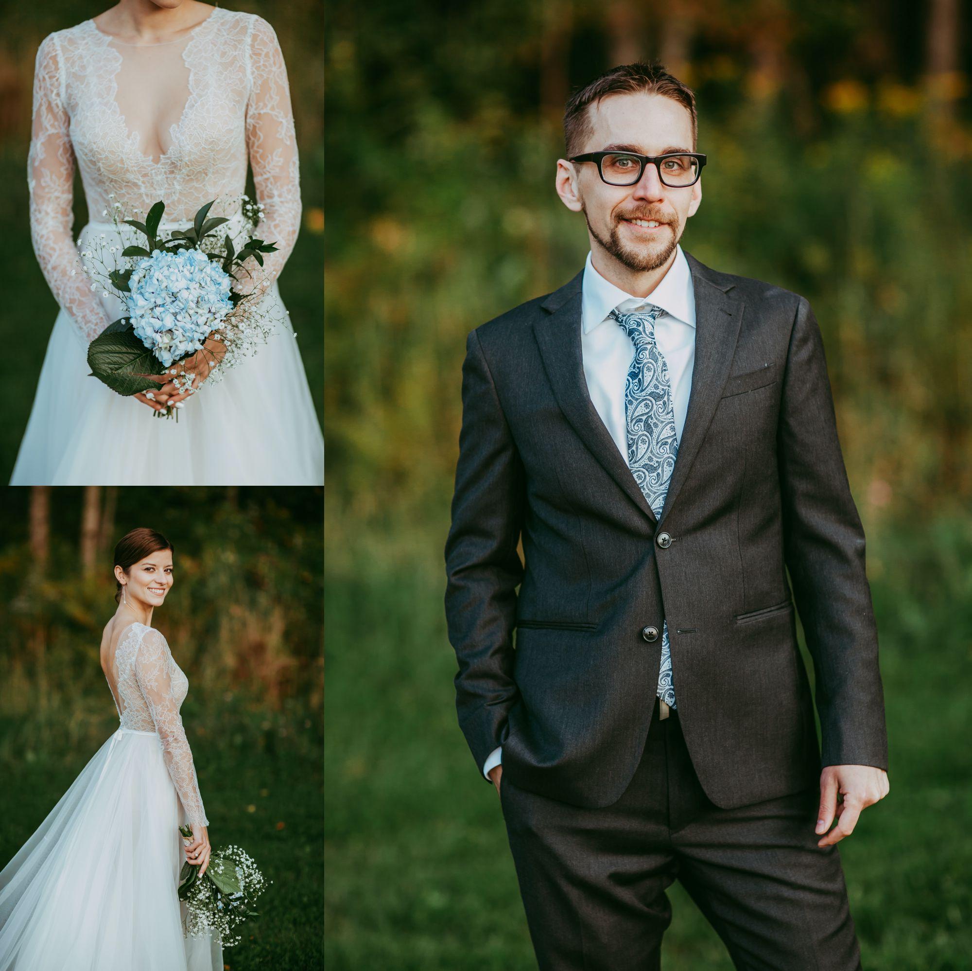 Mt Mansfield Wedding Bride and Groom