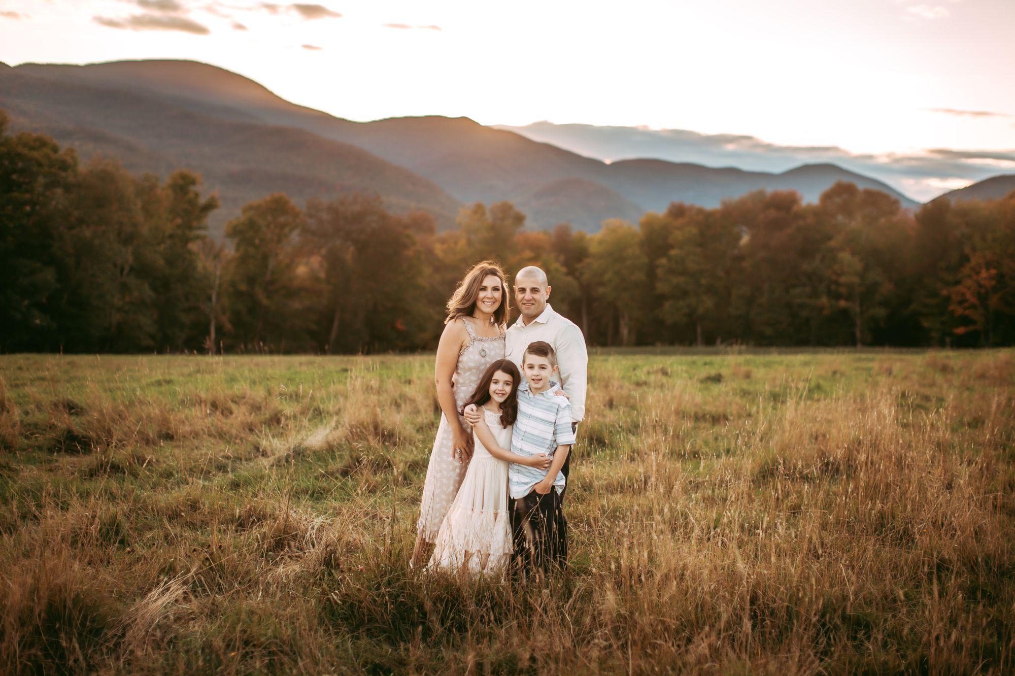 Family Portrait Trapp Lodge