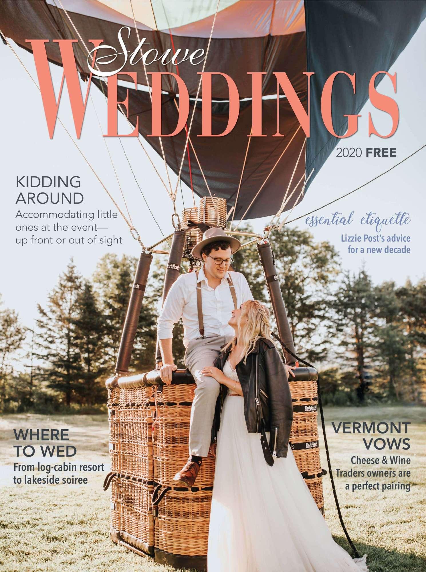 Stowe Weddings Magazine Cover